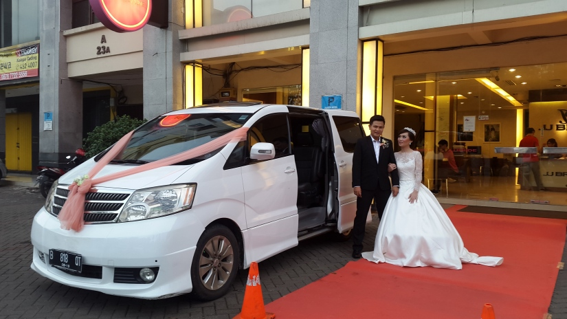 harga sewa rental mobil pengantin di jakarta utara kelapa gading murah meriah