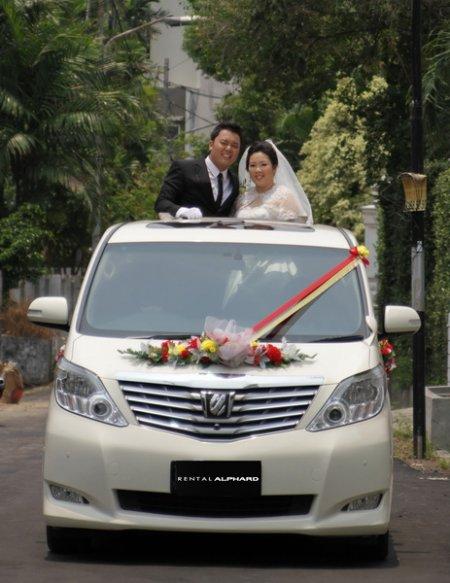 sewa mobil mewah pengantin